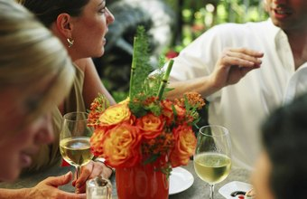 An entertainment planner coordinates the food, staff and entertainment at parties.