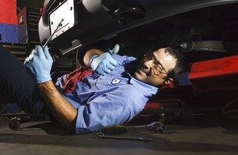 A natural passion for cars can help a mechanic's career.