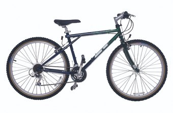 Easing bumps is one benefit to choosing a hardtail bike over a rigid bike.