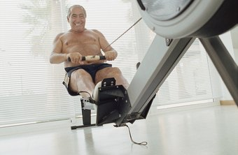 Get a total body workout with a rower.