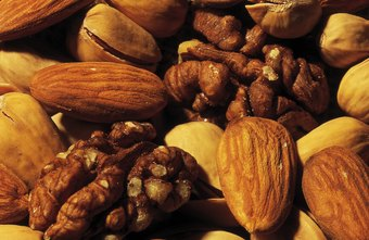 do walnuts and almonds help to burn fat chron com