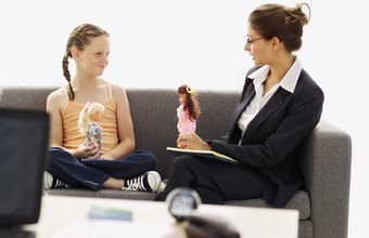 Child psychologists work with children to help solve their emotional, mental or behavioral problems.