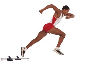 Sprinting engages your buttocks and gluteus maximus.