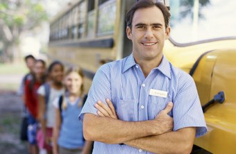 School bus drivers take children on school runs and field trips.