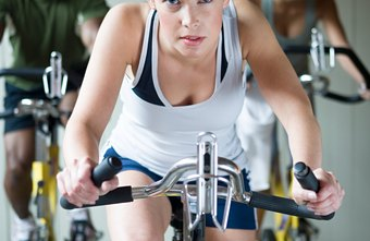 Indoor cycling class is one way to burn calories for weight loss.