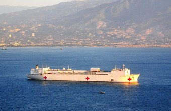 The USNS Hope is one of many Navy-owned, civilian-crewed Military Sealift Command ships.