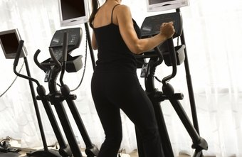 An elliptical machine has an up and down motion that works the muscles in your legs.