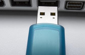 Even a small USB drive can hold many text documents.