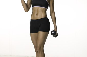 You can use dumbbells alone to tone your arms or while doing cardio to burn more calories.