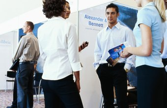 Business exhibitions are a potential source for joint marketing partners.