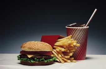 Avoid fast food to limit your intake of sugar and fat.