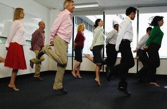 Exercising in the workplace doesn't require fancy clothes and equipment.