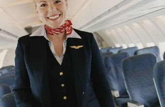 Customer service experience is helpful for flight attendants.