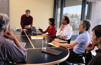 Frequent meetings keep management informed of employees' concerns.