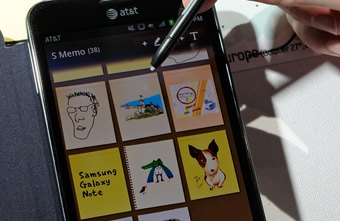 The Samsung Galaxy Note runs the Android 2.3 Gingerbread operating system.