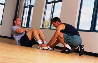 Other examples of muscular endurance exercises are body-weight squats and pushups.