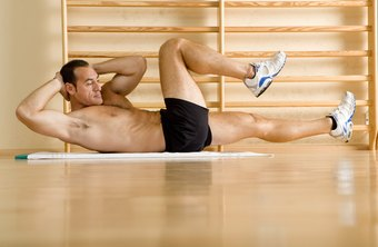 Bicycle crunches can help you build washboard abs.