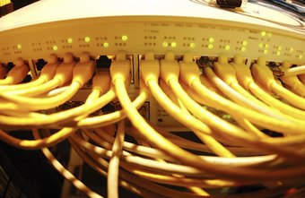 Servers can support intricate and simple networks.
