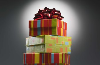 A gift wrapping service is an easy start-up business.