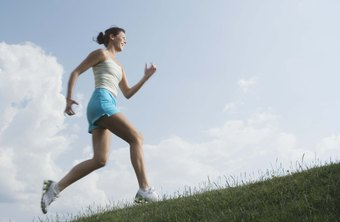 Running uphill can increase cardiovascular strength and burn more calories.