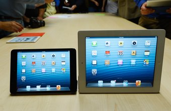 Both the iPad and iPad Mini have a 4:3 screen aspect ratio.