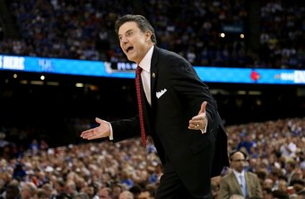 At Louisville in 2012, coach Rick Pitino earned more than $3 million a year.