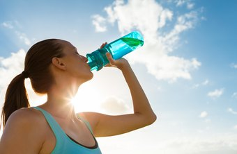 Rehydrate quickly after exercise to avoid negative effects of dehydration.