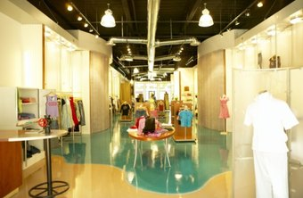 The clothing boutique's target market varies based on its specialties.