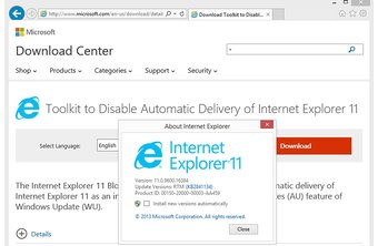 microsoft download center internet explorer 11