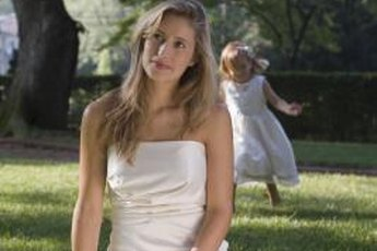 Backyard weddings can be inexpensive and elegant.