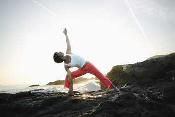 Tips for the Bikram Triangle Pose
