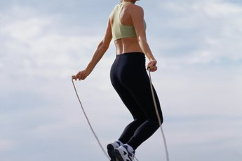 High Interval Training With a Jump Rope Routine