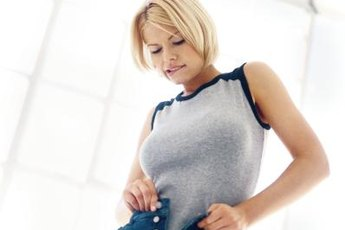 Control your calorie intake to avoid snug-fitting clothes.