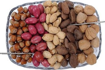 Most nuts are part of the Mediterranean Diet.