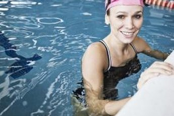 Torch hundreds of calories by swimming laps.