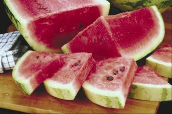 Watermelon is a low-calorie food.