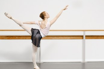 Easy Ballet Exercises for the Legs & Feet