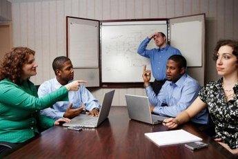 When teams reach a roadblock, brainstorm solutions.