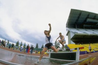 To do the steeplechase, prepare to be part superhero.