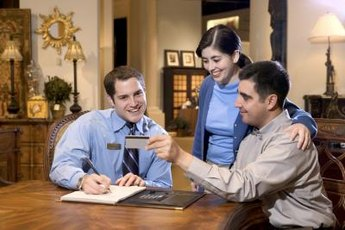 Your company may foot the bill, but it's your credit on the line.