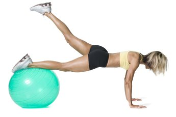 Exercise Guides for Exercise Balls