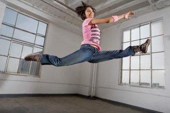 Long, flexible hip flexors give you more freedom.
