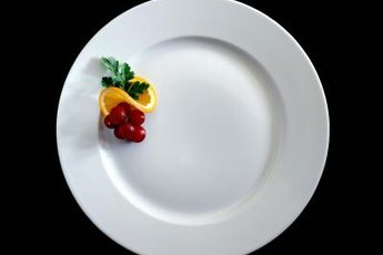 The USDA is responsible for letting you know how to fill a healthy plate.