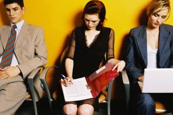 Group interviews involve similar activities as individual interviews.