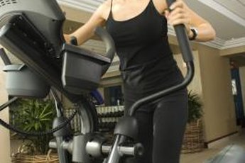 Elliptical machines offer a total-body workout.