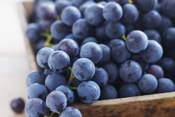 Concord grapes offer several health benefits.