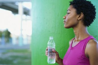 For proper muscle health, hit the water bottle before hitting the gym.