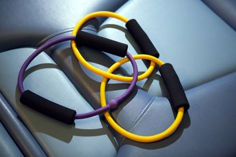 How to Exercise With Ring Resistance Bands