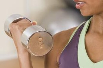 Aim for at least three sets of eight to 20 repetitions.