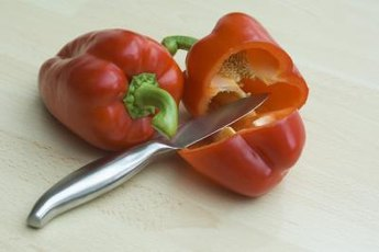 Sweet red pepper has high levels of immune-boosting vitamin C.